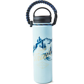 United By Blue Tough As Trails Stainless Steel Bottle 650ml Blue
